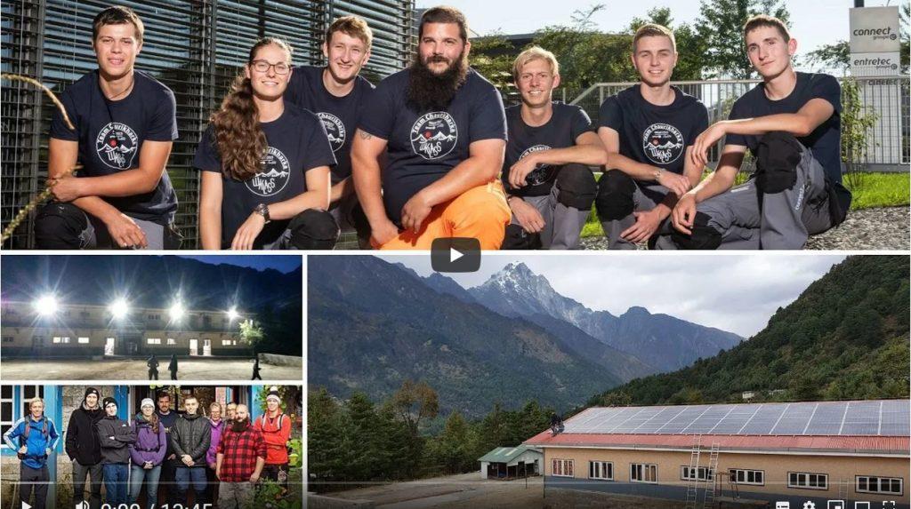 Revivez les aventures des sept apprentis de Groupe E Connect partis au Népal l'automne 2019